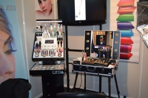 Display produse, Kit profesional pentru make-up
