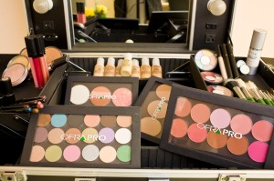 Kit profesional make-up OFRA
